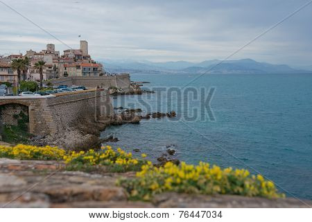 The Fortified Village Of Antibes