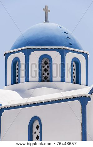 Kamari Church Blue Dome