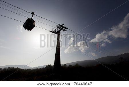 Cabin Lift Silhouette