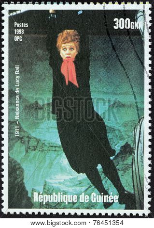 Lucy Ball Stamp