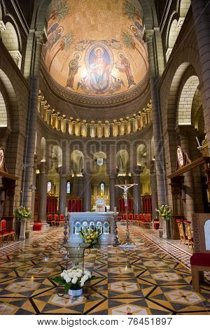 Inside Monaco Cathedral