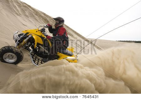 Quad In The Sand