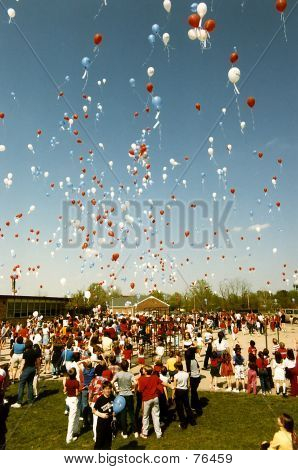 A Sky Full Of Baloons