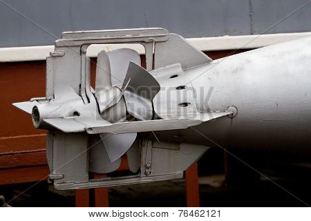 Missile On The Old Soviet Fighters