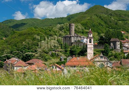 The Village Of Campo Ligure