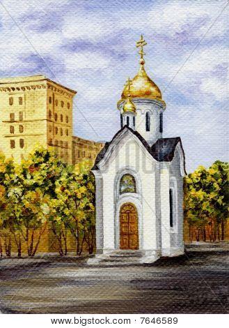 Chapel In Honour Of Sacred Nikolay