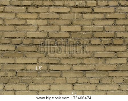 Texture Of Beige Brick Wall