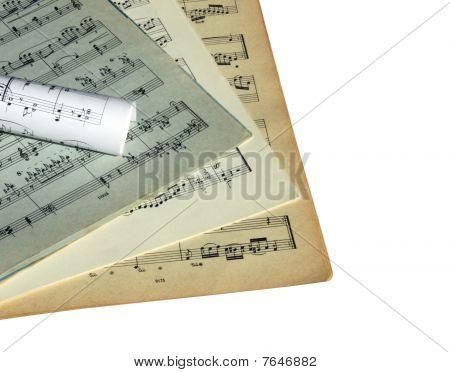 Sheets Of Musical Symbols