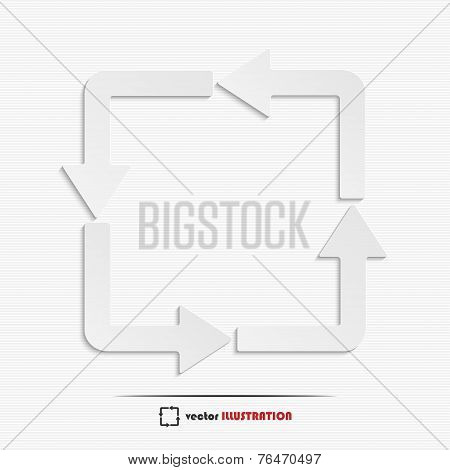 Abstract Redo Web Icon