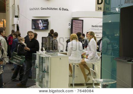 G Data on Cebit 2010