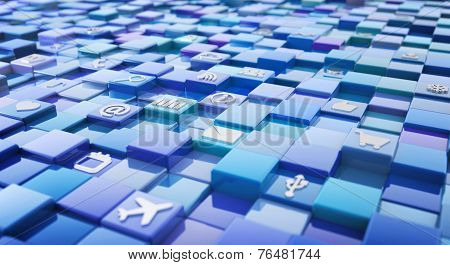 media technology icons