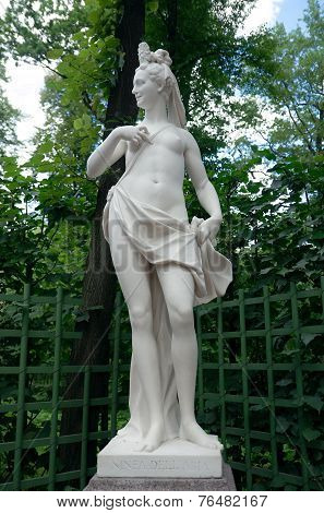 Nymph Of Air, Summer Garden, Saint Petersburg