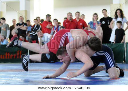 acción de lucha libre