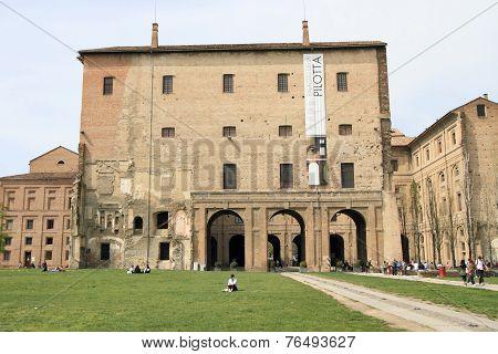 market square of Parma