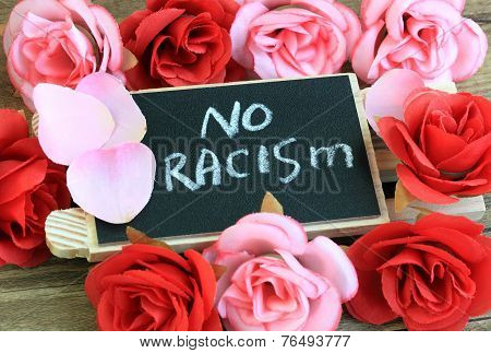 message of no racism