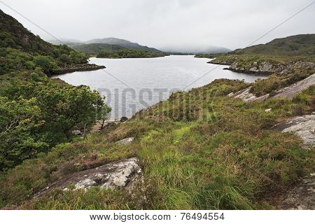 Beautiful Upper Lake in Killarney National Park.