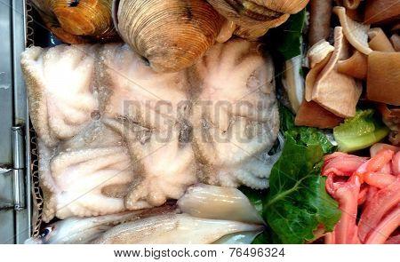 Seafood markets of Seoul, South Korea