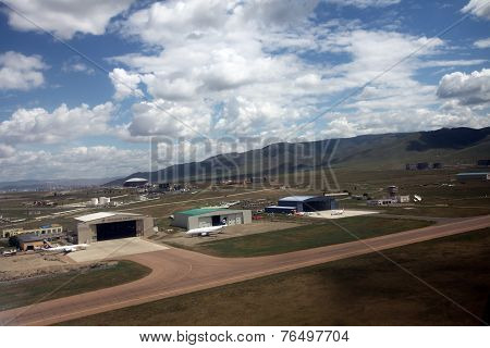 Chingis Kahn International Airport in Mongolia's capital, Ulaanbaatar