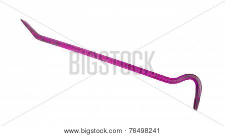 Old Pink Crowbar