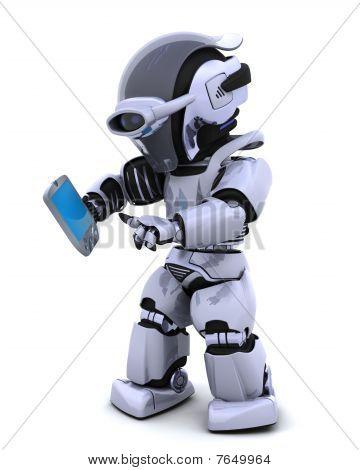 Robot con Palm Pilot
