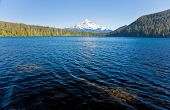 stock photo of u-boat  - Scenic view of Lost Lake and Mount Hood - JPG