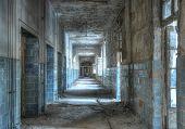 pic of intensive care  - Corridor of the intensive care unit in Beelitz - JPG