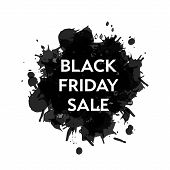 picture of friday  - Black Friday Sale blot icon - JPG