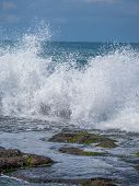 foto of tanah  - Amazing landscape at The Tanah Lot Temple - JPG
