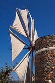 foto of windmills  - Irrigation windmills are the symbol of the Lasithi Plateau Crete Greece - JPG