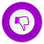 image of dislike  - dislike icon - JPG