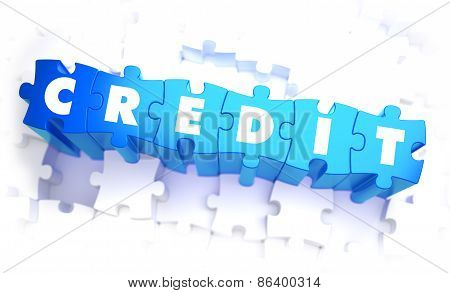 Credit - White Word on Blue Puzzles.