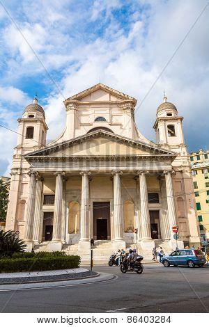 Basilica In Genoa