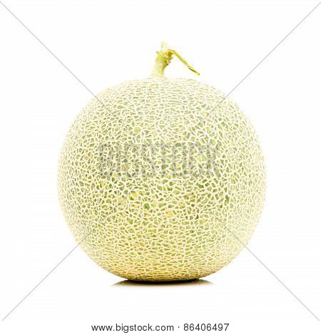 Isolated Melon On White