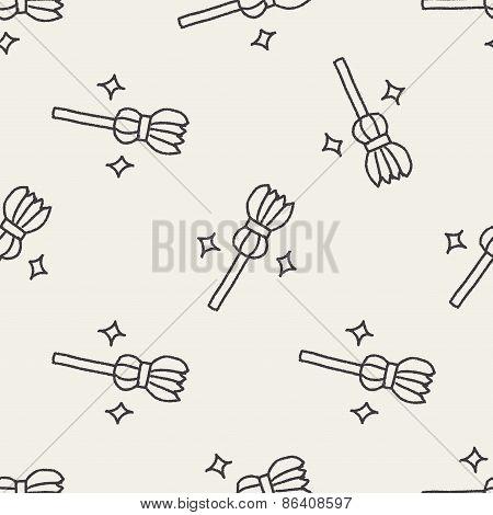 Broom Doodle Drawing