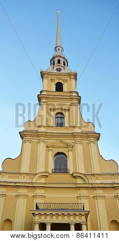 Peter And Paul Cathedral In Saint-petersburg, Russia