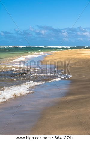 Kee Beach in Haena State Park, Kauai