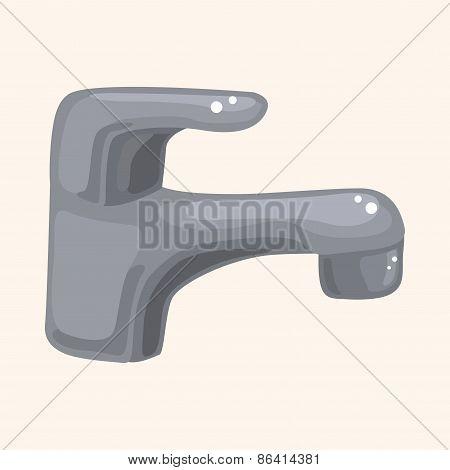 Bathroom Faucet Theme Elements