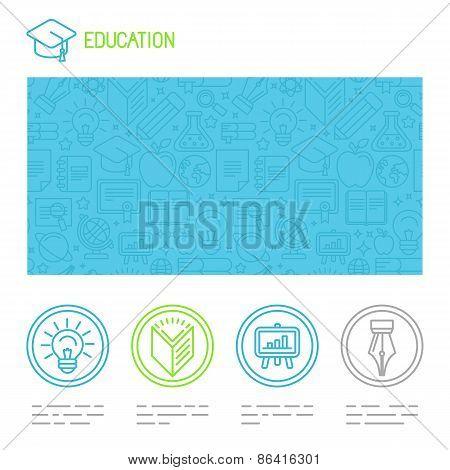 Vector Educational Design Template