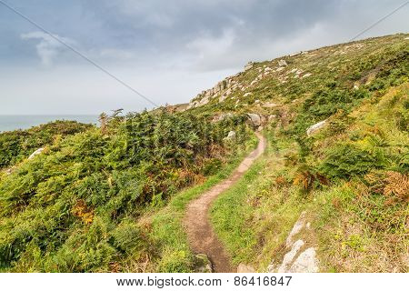 Walking along the coast path from st ives to Zennor