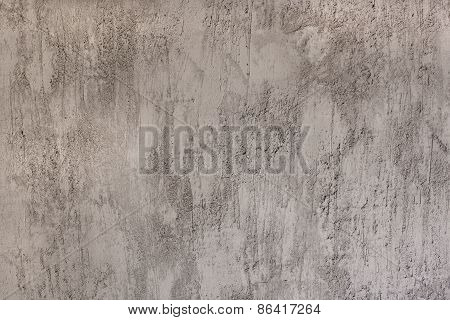 Plastered Wall Background - Stock Image