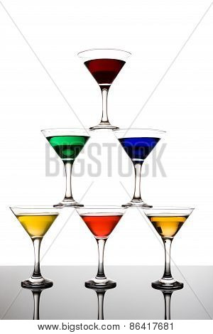 Cocktail Pyramid