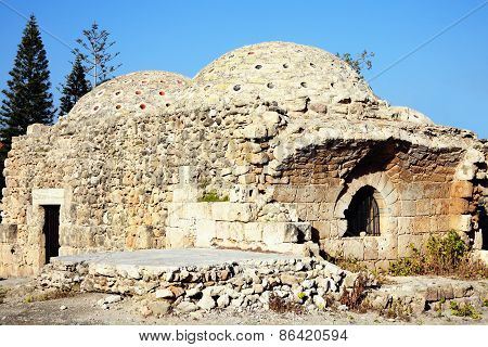 Medieval Turkish Baths, Paphos, Cyprus