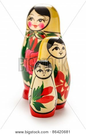 Russian Dolls Matreshka