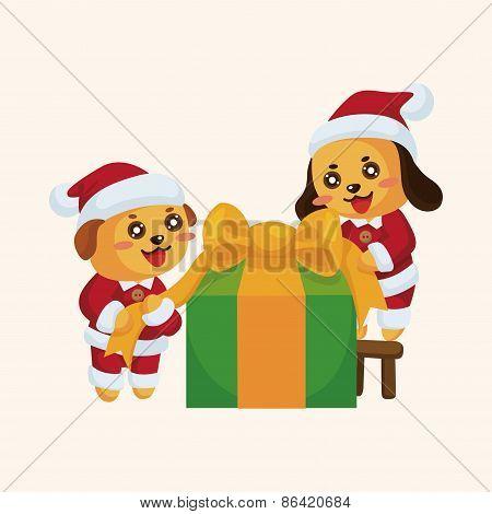 Santa Claus Theme Elements