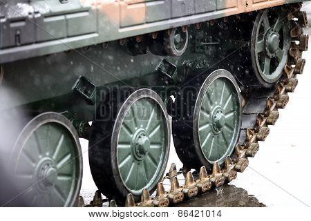 Tank Caterpillar Track