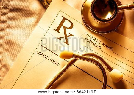 Stethoscope And Patient List