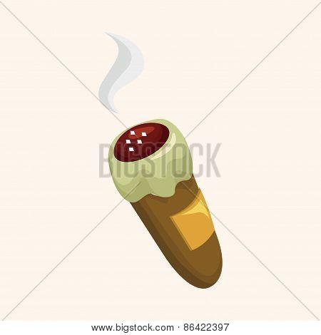 Cigarette Theme Elements