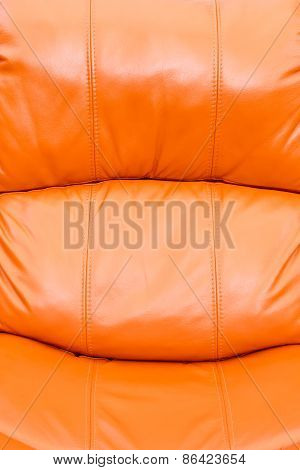 Orange Leather Background