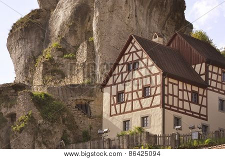 Typical house of North Bavaria, Germany