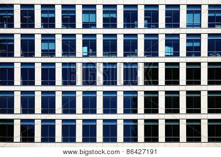Background of glass windows